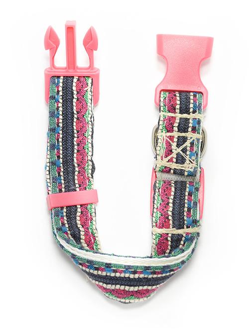 Collar de perro rosa original Ariaz Ceta Dog