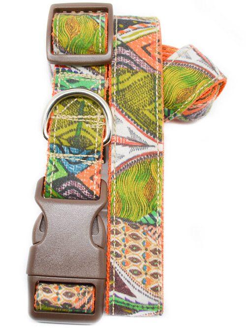 Correa y collar para perros original étnica